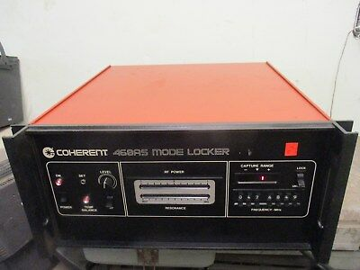 Coherent 468as Mode Locker_power Up_looks Nice_unique N Hard To Find_deal_fcfs!~