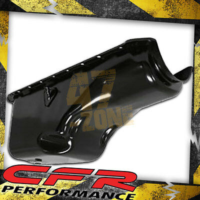 1965-90 Chevy Big Block 396-402-427-454 Stock Capacity Oil Pan - Black
