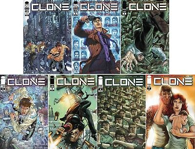Clone (7) Issue Run #1 2 3 4 5 6 7 Image 1st Print Set Robert Kirkman