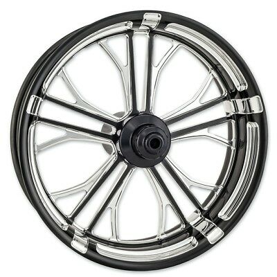 """Performance Machine Front Forged Wheels Dixon Style Touring Models 18"""" 19""""..."""