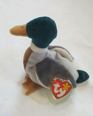 "Very Rare Ty-beanie Babies ""jake: New With All Original Tags 1997 Retired"