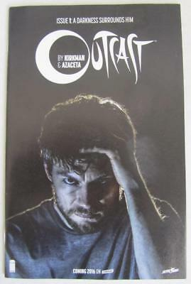 2015 Sdcc Outcast #1 Skybound 5th Anniversary Edition Comic Book Nm Kirkman