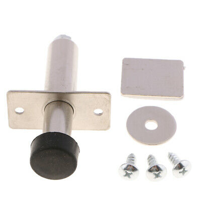 Chorm Stainless Chrome Door Poppers Kit Trunk Popper