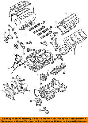 Ford Oem-engine Short Block 7t4z6009a
