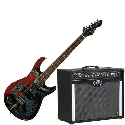 Peavey Bandit 112 Amp And Walking Dead Michonne Slash