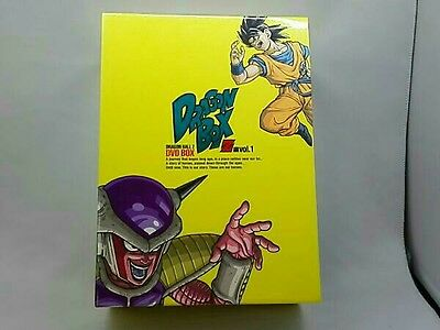 Dragon Ball Z Dbz Dvd Box Goku Vegeta Freeza Collection Official Christmas Gift
