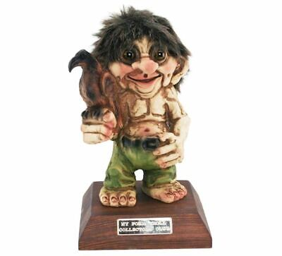 Nyform Norway Troll Collectors Club 2019 Figure, Limited Edition New