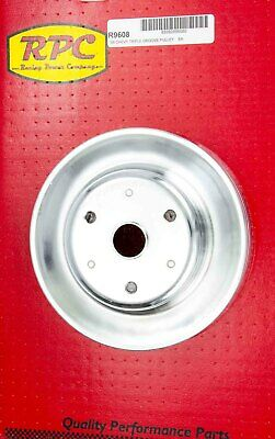 Chrome Steel Crankshaft Pulley 3groove Long Wp Racing Power Co-packaged R9608