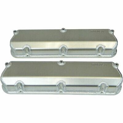Moroso 68475 Fabricated Aluminum Valve Covers Ford 302/351w 2.75 Tall Design