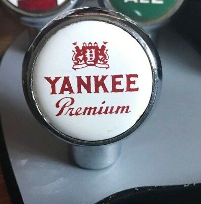 Vintage Yankee Premium Beer Ball Tap Knob / Handle Yankee Brewing Co Pittston Pa