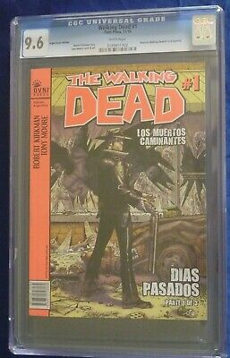The Walking Dead Comic Book Issue #1 Cgc 9.6 Twd Argentinian Ovni Press 11/10
