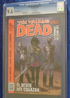 The Walking Dead Comic Book Michonne Issue #19 Cgc 9.6 Argentinian Ovni Press