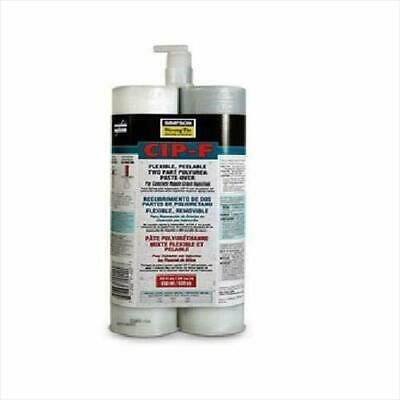 (10 Count) Simpson Strong Tie Cip-f22 Flexible Crack Injection Paste Over 22 Oz