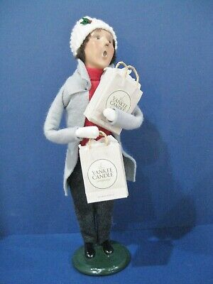 Byers Choice Carolers Yankee Candle Holiday Shopper