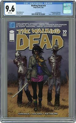 Walking Dead #19 Cgc 9.6 2005 2070494016 1st App. Michonne