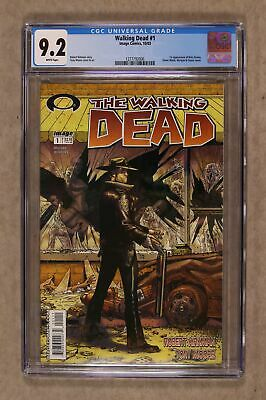 Walking Dead 1a 1st Printing Cgc 9.2 2003 1277792006