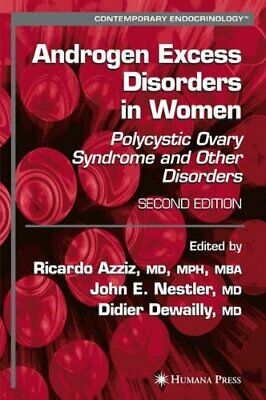 Androgen Excess Disorders In Women, Azziz, Nestler, Dewailly 9781617377044-,