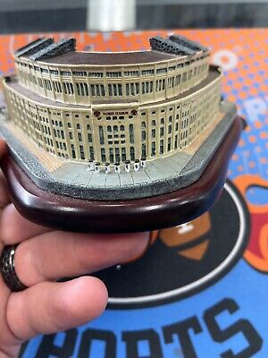 Replica Minature Yankee Stadium By Danbury Mint Cooperstown Collection