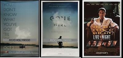 Original Gone Girl Live By Night Bus Shelter Posters Ben Affleck Cape Girardeau