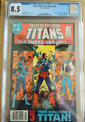 Tales Of The Teen Titans 44 Cgc 8.5 1st Dick Grayson/nightwing Newsstand Upc!!