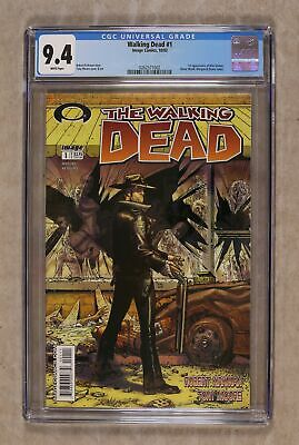 Walking Dead 1a 1st Printing Cgc 9.4 2003 0262571002