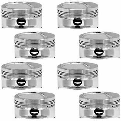 Manley 696700-8 Bb-chevy Inverted Dome Pistons 4.500 Bore -20cc Dome Volume 541c