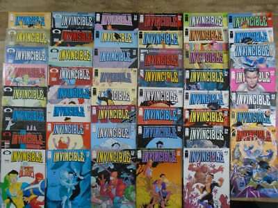 Invincible #0, 1-46+48 Robert Kirkman Cory Walker Image Comics Movie
