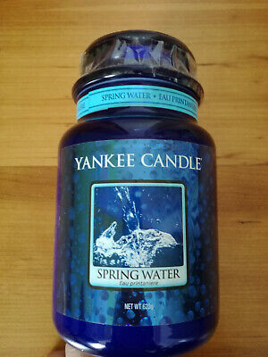Yankee Candle Spring Water Very Rare Large 22oz
