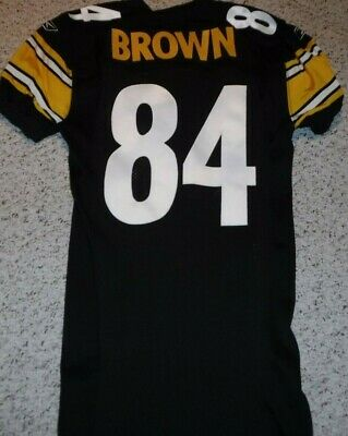 Pittsburgh Steelers Team Issued Jersey  Antonio Brown Authentic Game Jersey