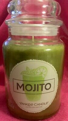 Yankee Candle Mojito 22 Oz Large Jar Candle-brand New! Very Rare! Smells Great!