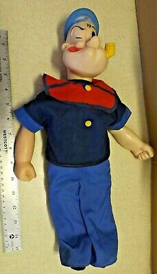 Large Vintage King Features Uneeda Popeye Doll Figure 1979 Guc