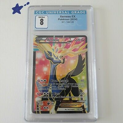 Xerneas EX Pokemon XY 146/146 CGC 8/10