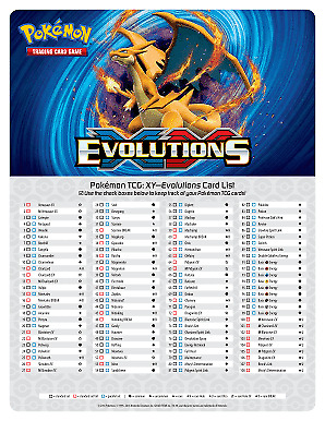 Pokemon Evolutions Singles - Pick what you need READ DESCRIPTION! All cards MINT