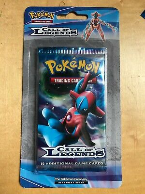 Pokemon Cards: Call of Legends Sealed Booster Pack in Blister: Deoxys Artwork
