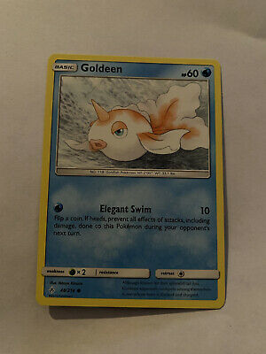 Goldeen - 48/214 - Common Unbroken Bonds Pokemon Card Water