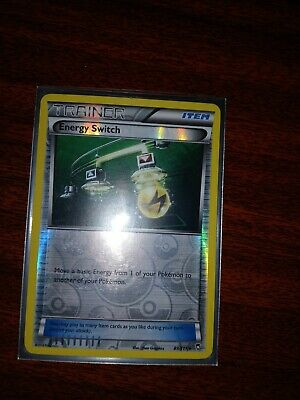 Trainer Energy Switch 89/111 - XY Furious Fists Rev Holo - MINT - Pokemon