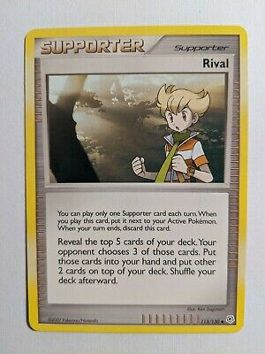 Pokemon Card Supporter Rival 113/130 Diamond And Pearl VLP LP