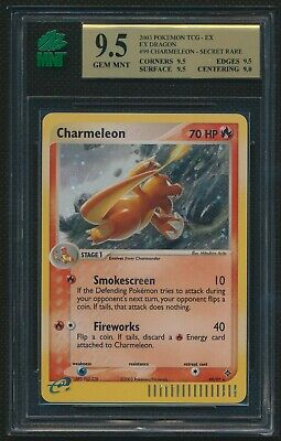 Pokemon  - Charmeleon - EX Dragon - 99/97 - MNT Graded 9.5