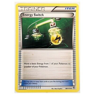 XY Furious Fists Pokemon Card: Energy Switch 89/111