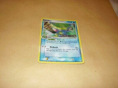 Lombre Holo Pokemon Card Deoxys 33/107 (Very Good Condition)