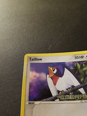 Taillow - 68/106 - EX Emerald Set Pokemon Card - Stamped NM
