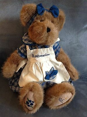 Yankee Candle / Boyds Bears Bluebearies Bear (muffin B. Bluebeary) Collectible