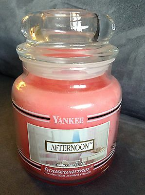 Yankee Candle Pink Afternoon 14.5 Oz Jar - Super Rare - Used