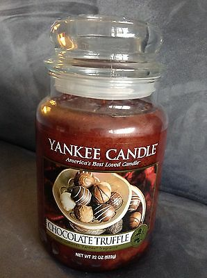 Yankee Candle Chocolate Truffle 22 Oz Jar - Very Rare - Brand New