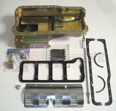 Canton Ford Sbf Cobra Kit Car Front Sump 289/302 Road Race Oil Pan 6 Pc Kit 630s