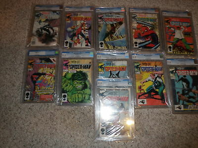 Web Of Spiderman Complete Collection Cgc