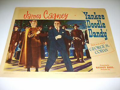 Yankee Doodle Dandy James Cagney 1942 Authentic Vintage Movie Lobby Poster (486)