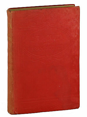 Dracula By Bram Stoker ~ Ninth Edition 1912 ~ First Rider ~ London 1st Thus