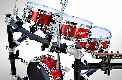 goedrum je6 electronic drum set / electric drum kit / digital drum / mesh edrums