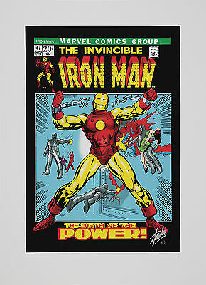 Original Marvel Print - The Invincible Iron Man 47 (washington Green)